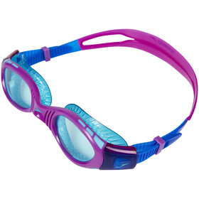 speedo Futura Biofuse Flexiseal Lunettes de protection Enfant, newsurf/purplevibe/peppermint